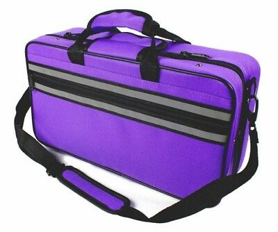 CASE for Bb Clarinet  - with Shoulder Strap - Case ONLY- PURPLE