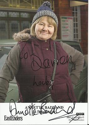 Eastenders Signed Cast Card - Annette Badland as Babe Smith - Autograph