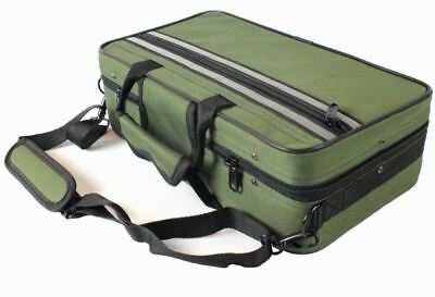 CASE for Bb Clarinet  - with Shoulder Strap - Case ONLY- GREEN