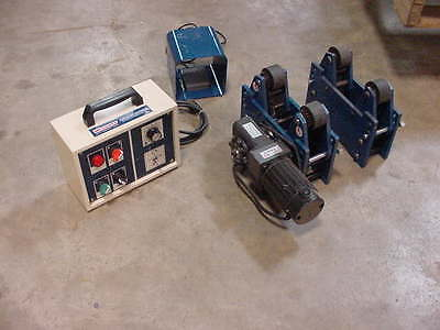 New Westward Pipe Tank Turning Roll Welding Positioner 1100 LB Capacity 2UPX1