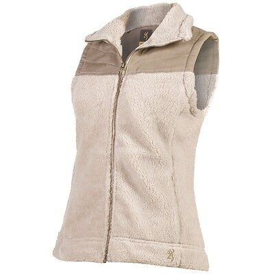Browning Women's Snowberry Vest (Pelican) BRI7030.908