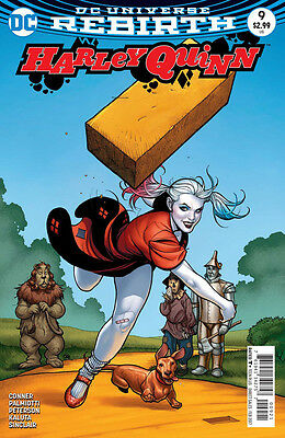 HARLEY QUINN #9, VARIANT, New, First Print, DC REBIRTH (2016)