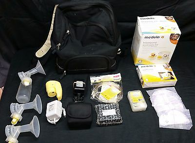 Medela Pump In Style Advanced Backpack with Accessory Set + Extras