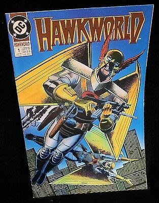 Hawkworld 1 DC 1990 Predators Thanagars Hero