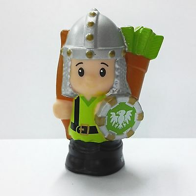Little People Green Knights Archery Fisher Price 2015 Mighty Kings Castle Figure