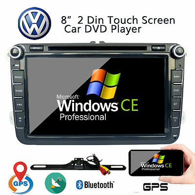 "8"" Android 6.0 Car DVD Player Multimedia System For VW PASSAT TOURAN JETTA GOLF"