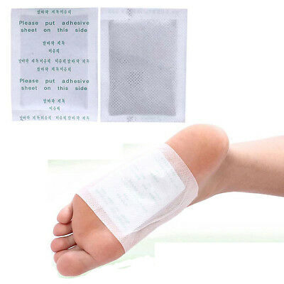 1-100Pc Good Detox Foot Pads Patch Detoxify Toxin Adhesive Keep Fit Healthy Care