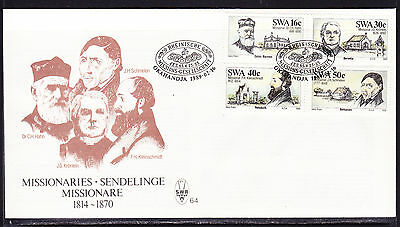 South West Africa  1989 Missionaries First Day Cover - Unaddressed