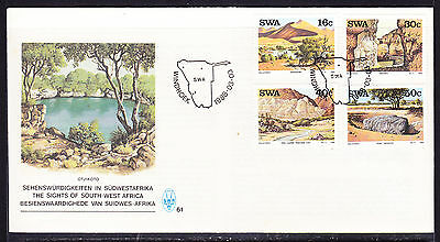 South West Africa  1988 Landmarks First Day Cover - Unaddressed
