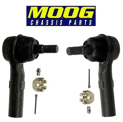 For Jeep Pair Set of Front Left & Right Outer Steering Tie Rod Ends MOOG
