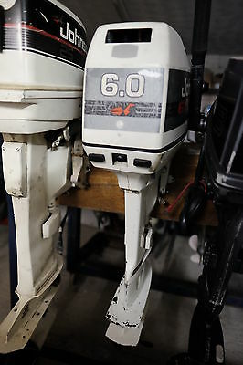 Johnson 6 Hp Outboard With  Long Shaft And Pull Start
