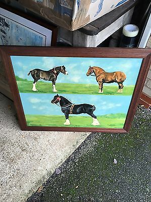 Large Oil On Board Painting Signed Ian Welsh