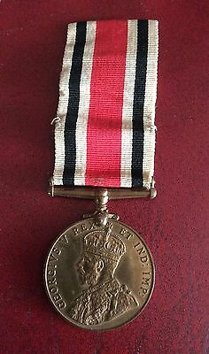 Vintage 1919 Special Constable Long Service Medal