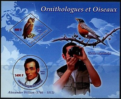 MALI 2010-18 Birds  Oiseaux  Vogel  Uccello  Aves  Ornitologue Wilson MNH