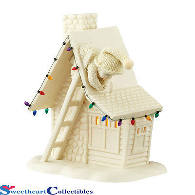 Department 56 Snowbabies 4045660 Home Sweet Home New 2015 LED Lit
