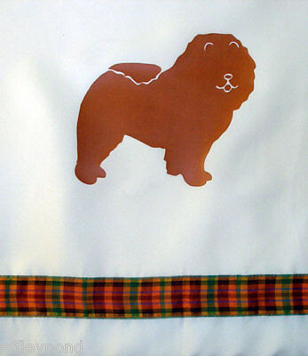 Chow Chow Dog Shower Curtain color choice for you