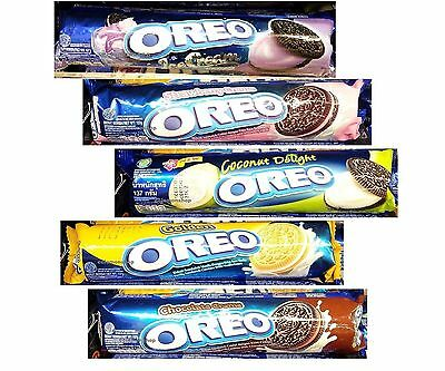 1x OREO Sandwich Cookies Strawberry Chocolate Coconut Delight Blueberry Double