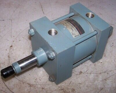 "New Boston Gear Pneumatic Cylinder 4"" Bore 1-5/8"" Stroke 1/2"" Npt Clevis Mount"