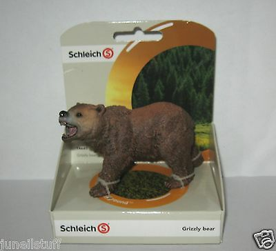 Schleich 14685 Grizzly Bear Wild Animal Toy Figurine NEW in Pack