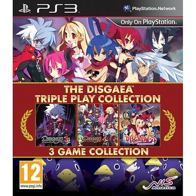 The Disgaea Triple Play Collection PS3 Game Brand New