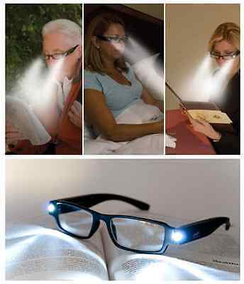 LED Night Light Reading Glasses With Built In Lights - Choose Strength TY6729