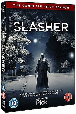 Slasher - The Complete First Season - DVD NEW & SEALED (3 Discs) (1st Series)