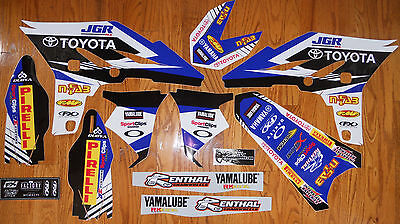 Factory Effex Team Jgr Toyota Graphics Decals Kit Yz250F ( 2010 2011 2012 2013 )