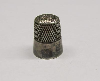 Vintage Sterling Silver #10 Thimble ~ 5.5 grams ~ 8-A900