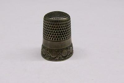 Vintage Sterling Silver #10 Thimble ~ 5 grams ~ 8-A902