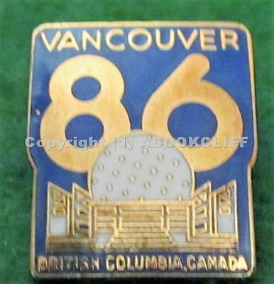 EXPO 86 EXPO CENTER DOME - RENAMED SCIENCE WORLD Vancouver BC Pin Near Mint