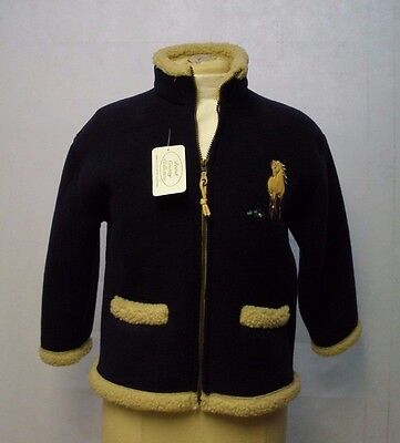 British Country Collection Kid Blue Fleeced jacket
