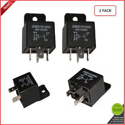 Car Relay 4 Pin 12v 40amp Spst JD2912-1H-12VDC 40A 14VDC Auto Switches Starters