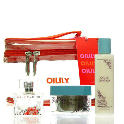 Oilily Ovation Set EDP 50 ml + BC 200 ml + B&SG 200 ml + Beauty Case NEU