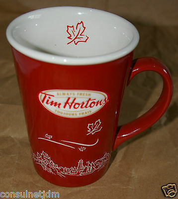 Tim Hortons Collectable Limited Edition Coffee Mug 2010 - Horton's  N/#010