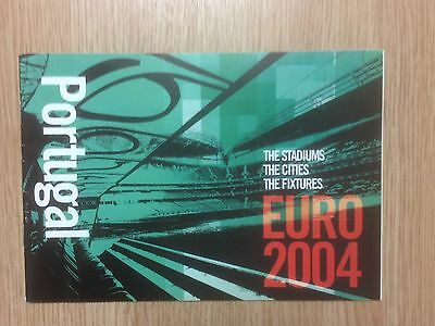 Euro 2004 Portugal The Stadiums The Cities The Fixtures Booklet by World Soccer