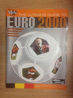 Match Of The Day Ultimate Guide to Euro 2000 Preview Magazine