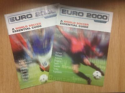 World Soccer Essential Guide Euro 2000 - 2 x Booklet's