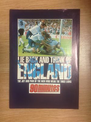 Lie Back & Think of England - Photo Supplement Produced by 90 Minutes