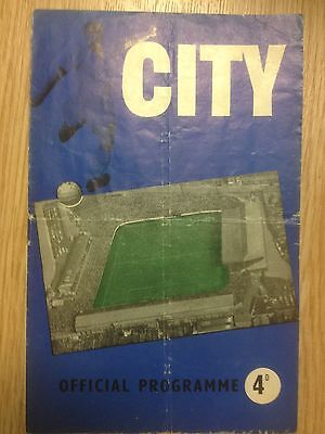 1959/60 Coventry City v Swindon Town - Third Division