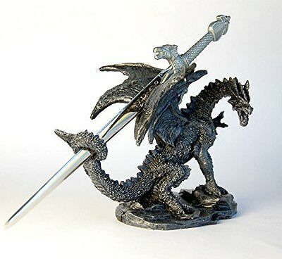 Dragon with Sword / Letter Opener Ornament, 10 cm