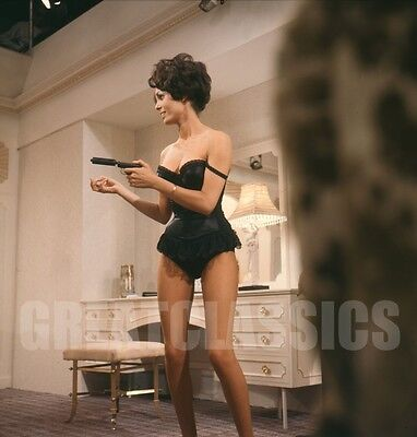 Daliah Lavi Spy With Cold Nose 1966 Sexy 2 1/4 Camera Transparency Peter Basch