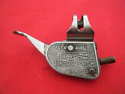 VINTAGE STURMEY ARCHER 3 or 4 SPEED GEAR CHANGER LEVER TRIGGER BICYCLE GC2 1940s