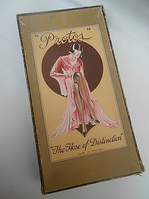 1920's Vintage ** PROTO'S THE NOSE OF DISTINCTION ** Stocking Box