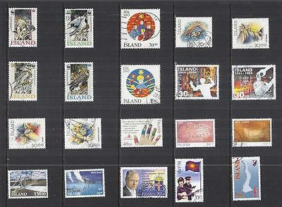 y461 Iceland / A Small Collection Early & Modern Used