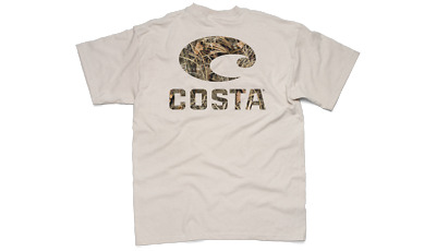 Costa Del Mar Realtree® Max-4™ Camo Short Sleeve T-Shirt