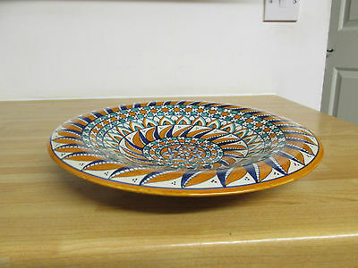 Vintage Hand Painted Michele Ravello Collectors Plate Italy