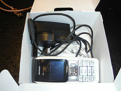 Nokia 2310 Mobile Phone Boxed With Charger And Ear Phones.