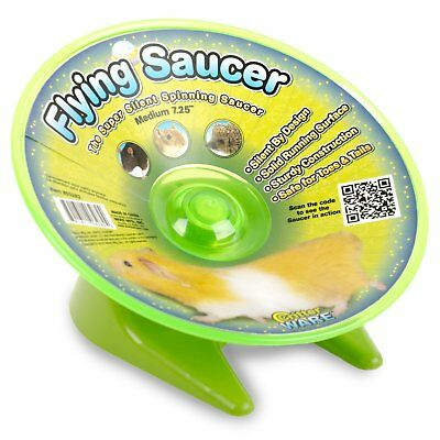 Ware Manufacturing Flying Saucer Exercise Wheel Spinner for Medium Animal 6.5 in