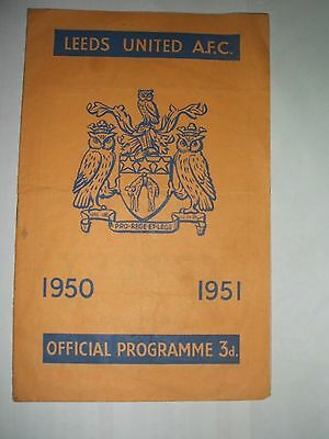 Leeds  United  V  Hull  City ( Monday 26Th March 1951 )