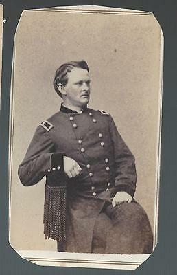 "Civil War CDV Union ""Boy"" General Wesley Merritt"
